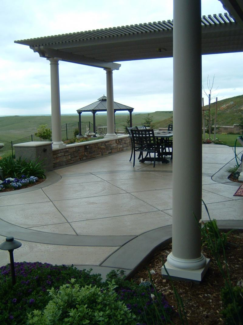 Lattice Pergola Roseville