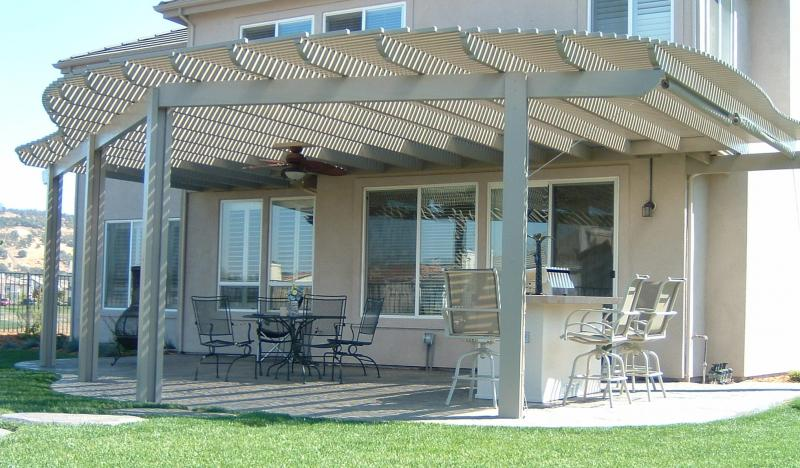 Folsom Patio Cover On Golf Course Lot
